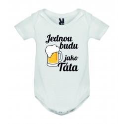 Dětské bodyčko - Jednou budu pivař
