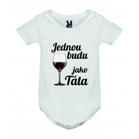 Dětské bodyčko - Jednou budu vinař