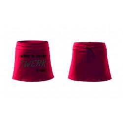 Dámská sukně - TWERK