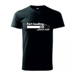 Pánské tričko - Fart loading