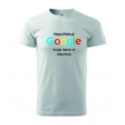 Pánské tričko - Google