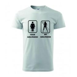 Pánské tričko - Your GF my GF