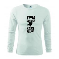 Pánské tričko - Yoda relax