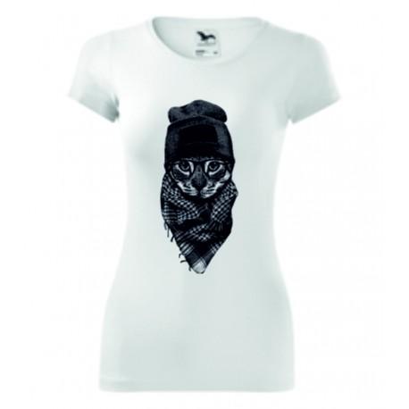 Dámské tričko - Hip cat