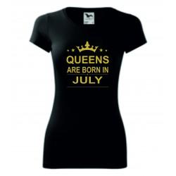 Dámské tričko - QUEENS