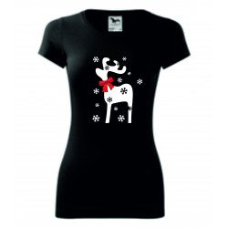 Dámské tričko - Sobík