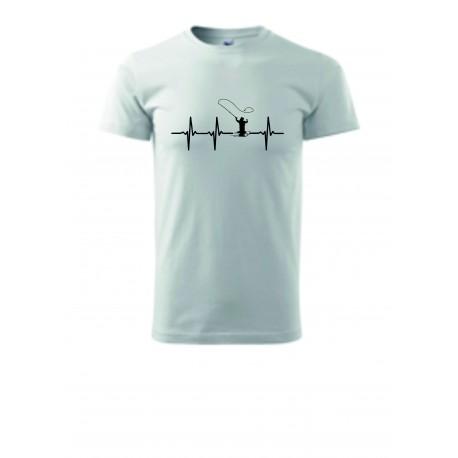Pánské tričko - BUŠENÍ SRDCE -MUŠKAŘENÍ