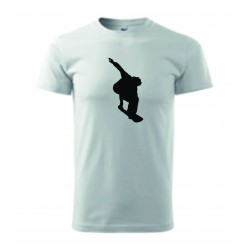 Pánské tričko - Snowboard