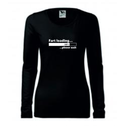 Dámské tričko - Fart loading