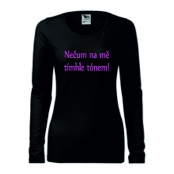 Dámské tričko - Nečum