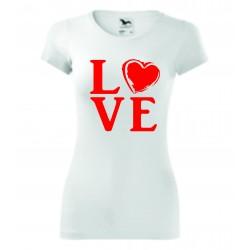 Dámské tričko - CAT IS MY VALENTINE