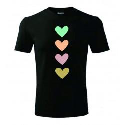Dětské tričko - Hearts