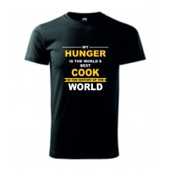 Pánské tričko - MŮJ HLAD
