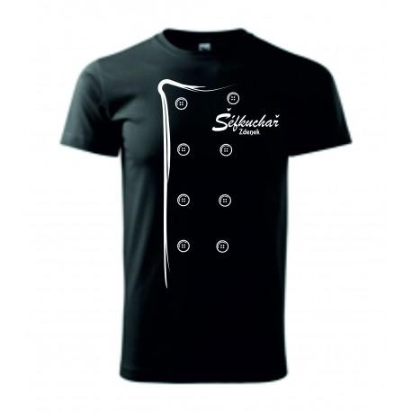 Pánské tričko - ŠÉFKUCHAŘ