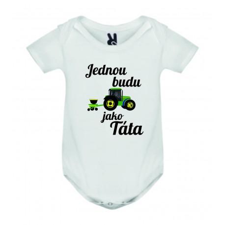 Dětské bodyčko - Jednou budu traktorista