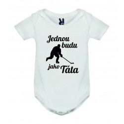Dětské bodyčko - Jednou budu hokejista