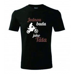 Dětské tričko - Jednou budu motorkář II.