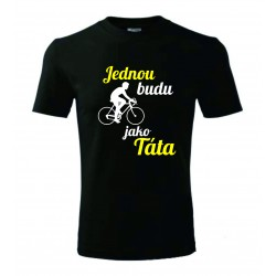 Dětské tričko - Jednou budu cyklista