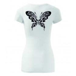 Dámské tričko - Motýl záda