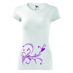 Dámské tričko - Ornament s motýlem