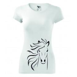 Dámské tričko - Kůň