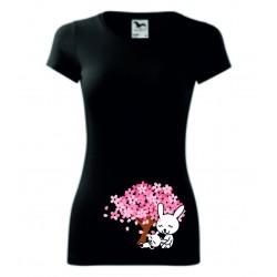Dámské tričko - Králíčci