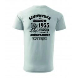 Pánské tričko - LIMITOVANÁ EDICE ROK 1955 ..... váš rok