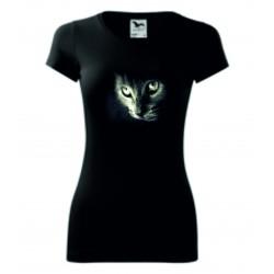 Dámské tričko - Kočka