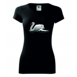 Dámské tričko - Labuť