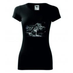 Dámské tričko - Lev a lvice