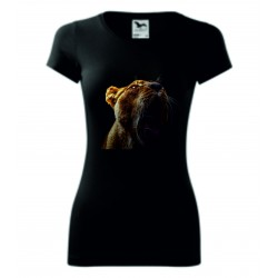 Dámské tričko - Lvice