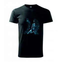 Pánské tričko - Blue woman