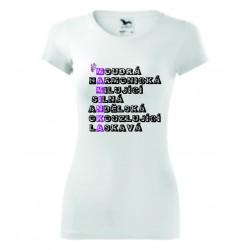 Dámské tričko -MAMINKA