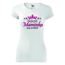 Dámské tričko -Nejlepší maminka na světě