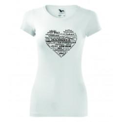 Dámské tričko - Vlastnosti maminky