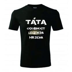 Pánské tričko - TÁTA osobnost