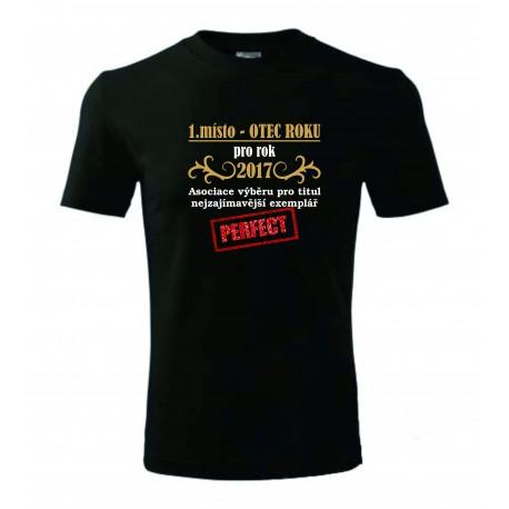 Pánské tričko - 1. místo