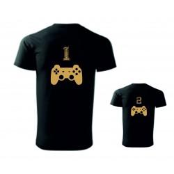Dětské a pánské tričko -Gameři