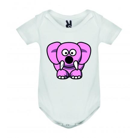 Dětské body - Sloník růžový