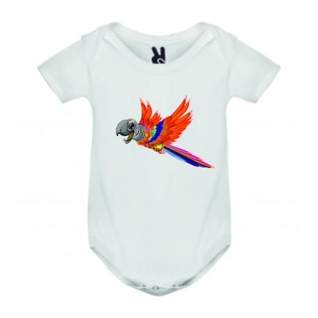 Dětské body - Papoušek