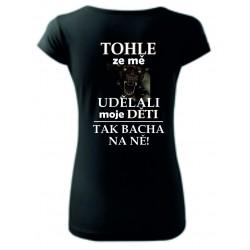 Dámské tričko - Saň