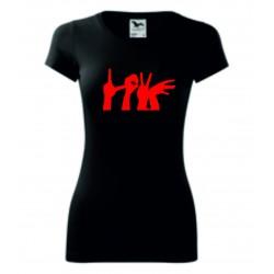 Dámské tričko - LOVE