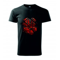 Pánské tričko - Pavoučí hruď - imitace roztrhání