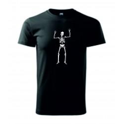 Pánské tričko - Kostlivec